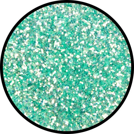 2 g Eulenspiegel Polyester Streu Glitzer Frosted Green