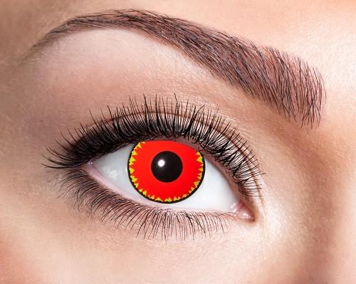 Eyecatcher Fantasy 12 Monatslinsen Demonic Red