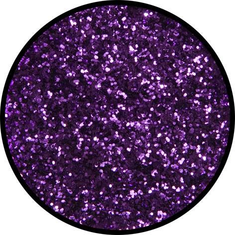 12 g Eulenspiegel Polyester Streu Glitzer Violett
