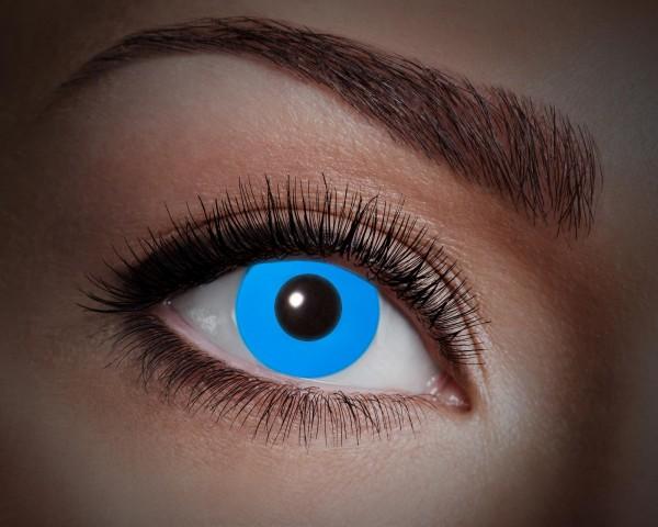Eyecatcher UV Flash 1 Monatslinsen Flash blue