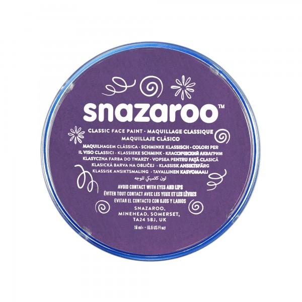 Snazaroo Schminkfarbe Violett 18 ml