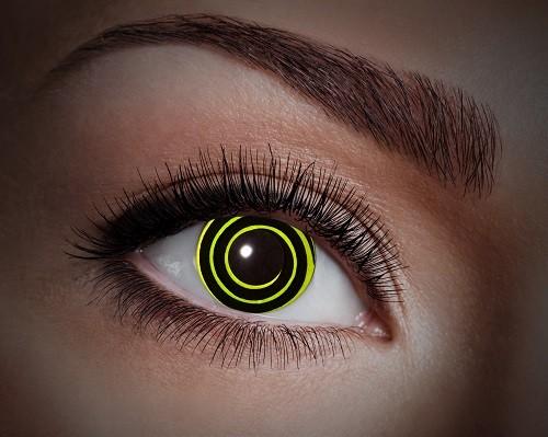 Eyecatcher UV 12 Monatslinsen Yellow Circle