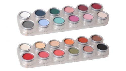 Grimas Eyeshadow - Rouge Palette 24 FK (FK1+FK2) - 24 x 2g