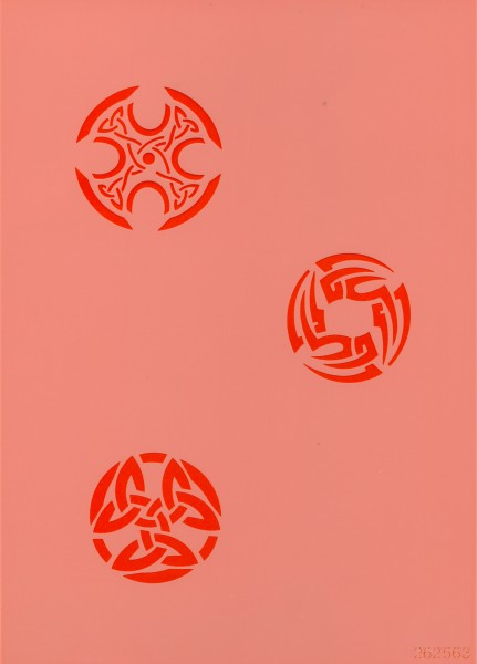 Airbrush Schablone Celtic Symbols Eulenspiegel