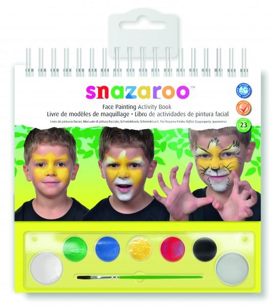 Snazaroo Schminkbuch Aktionsbuch Gesichter Schminken
