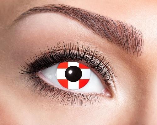Eyecatcher Flaggen 12 Monatslinsen Schweiz