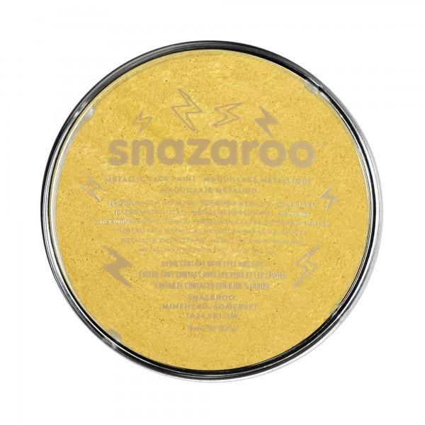 Snazaroo Schminkfarbe Metallic Gold 18 ml