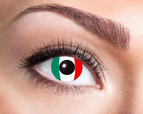 Eyecatcher Flaggen 12 Monatslinsen Italien
