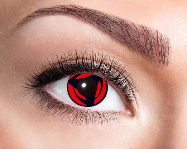 Eyecatcher Fantasy 12 Monatslinsen Mangekyo Red