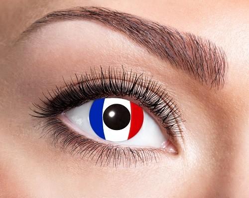Eyecatcher Flaggen 12 Monatslinsen Frankreich
