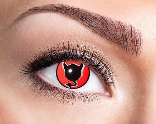 Eyecatcher Fantasy 12 Monatslinsen Devil Eye