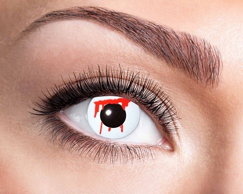 Eyecatcher Fantasy 12 Monatslinsen White Slash