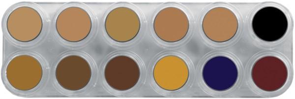 Grimas Camouflage Make-up Palette CB 12 x 2,5ml