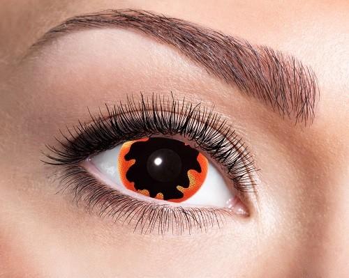 Eyecatcher Mini Sclera 6 Monatslinsen Black Sun