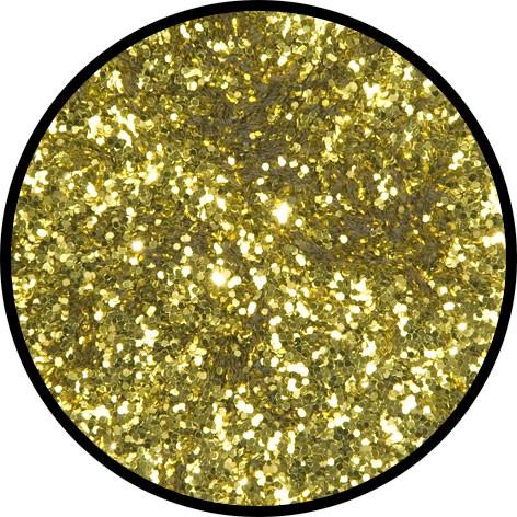 2 g Eulenspiegel Polyester Streu Glitzer Inkagold