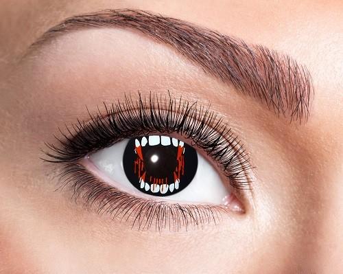 Eyecatcher Fantasy 12 Monatslinsen Vampire Fang