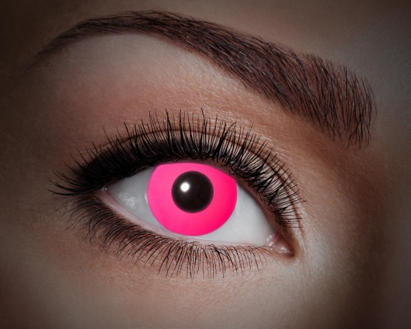 Eyecatcher UV Flash 1 Monatslinsen Flash pink