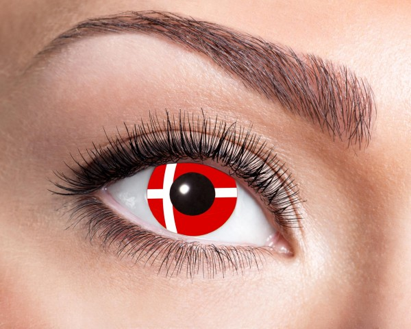 Eyecatcher Flaggen 12 Monatslinsen Dänemark