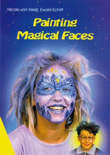 """Book """" Painting Magical Faces """" - only in English !"""
