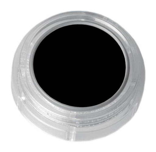 Grimas Water Make-up 101 schwarz - 2,5 ml