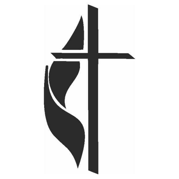 Selbstklebe Schablone Kreuz II Eulenspiegel